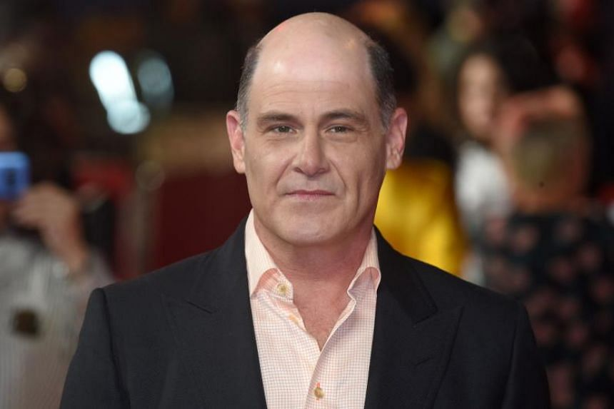 """US writer and director Matthew Weiner poses on the red carpet for the world premiere of Amazon's """"The Romanoffs"""" in London, on Oct 2, 2018."""