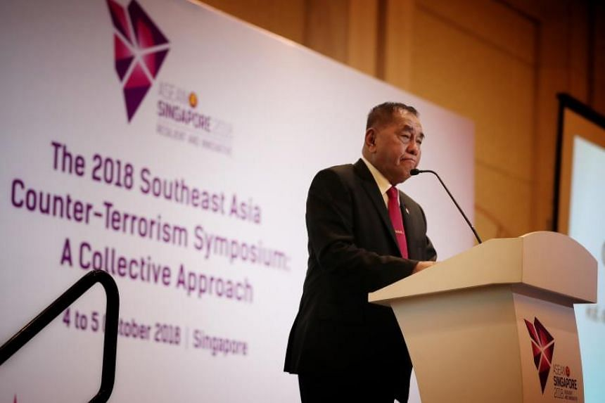 Indonesia's Defence Minister Ryamizard Ryacud was one of four guest speakers at the 2018 Southeast Asia Counter-Terrorism Symposium: A Collective Approach.