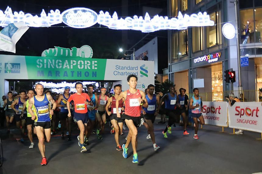 Close to 40,000 people have signed up for the 2018 edition of the Standard Chartered Singapore Marathon.
