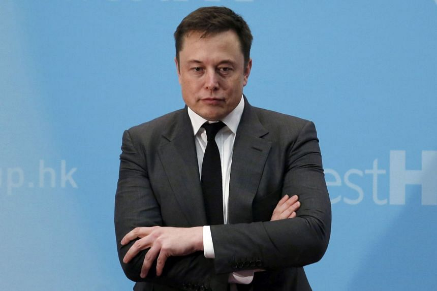 """Musk (above) called the SEC the """"Shortseller Enrichment Commission"""" on Twitter."""