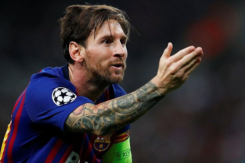 Following his double in the 4-2 win over Tottenham on Wednesday, Lionel Messi has now scored 105 Champions League goals, just 15 behind all-time top scorer Cristiano Ronaldo.