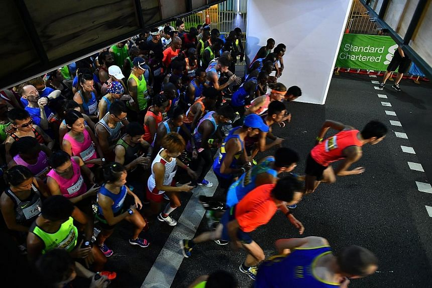 The Standard Chartered Singapore Marathon on Dec 8 and 9 will have an improved bag deposit system, wider starting areas and more hydration and cooling zones.