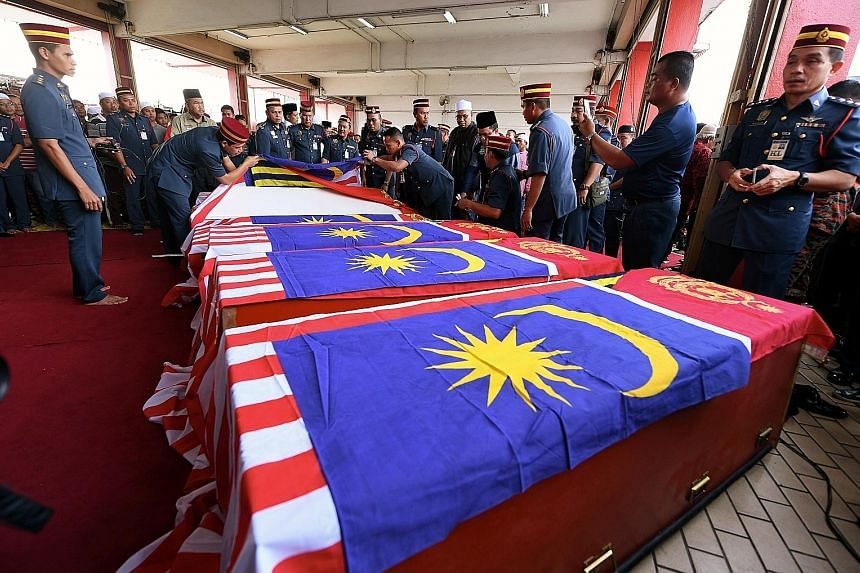 Six rescue divers from the water rescue unit of the fire and rescue department drowned in a freak accident in Selangor after encountering strong undercurrents while searching for a teenager who had fallen into a pool at an abandoned tin mine on Wedne