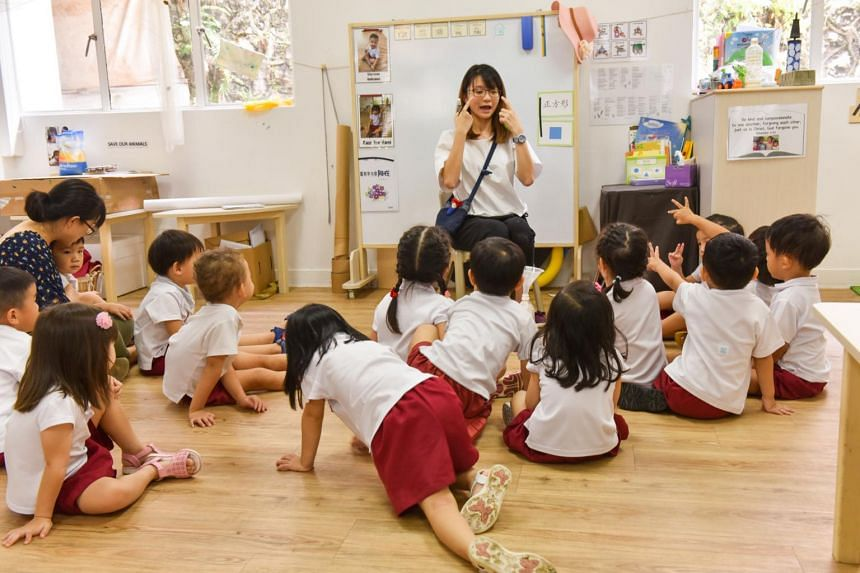 A new certification course in mother tongue language teaching will be launched next year to enhance pre-school teachers' spoken language skills and their knowledge about related culture and heritage.