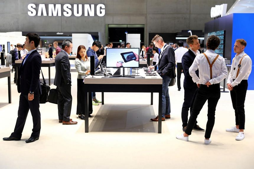 Samsung, in a regulatory filing, said July-September profit was likely 17.5 trillion won (S$21.3 billion), up 20.4 per cent from the same period a year earlier.