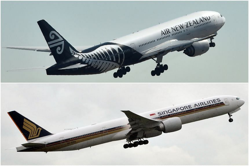 During peak months, the two airlines will operate 35 return services in total a week between Singapore and New Zealand.