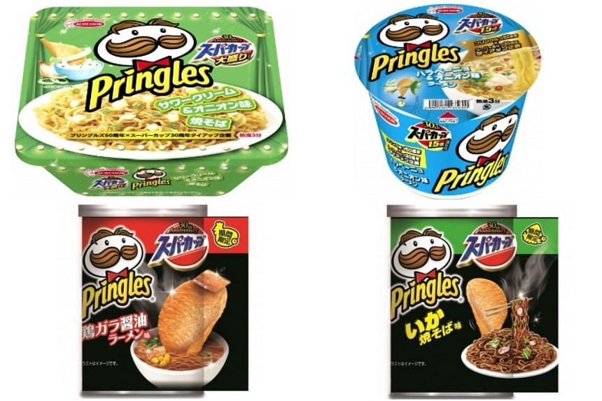 The collaboration is in celebration of Pringles' 50th anniversary and Super Cup's 30th.
