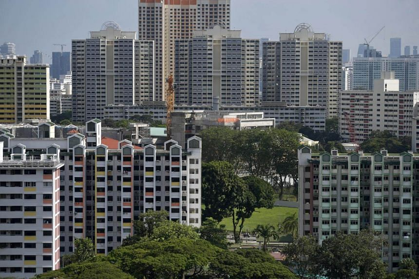 Prices in mature estates fell by 1.2 per cent, while the drop in non-mature ones was 0.3 per cent.
