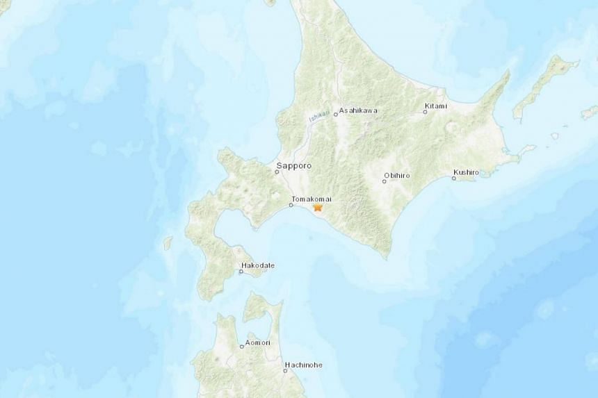 The US Geological Survey said the quake, which it measured at 5.2 magnitude, was 42km deep and centred on Hokkaido's southern coast.