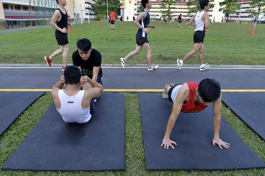 Upon completion of their Individual Physical Proficiency Test (IPPT), the money will be credited to their bank account immediately via PayNow.