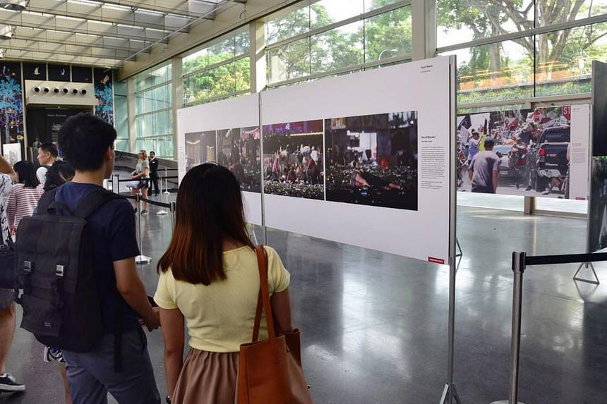 The Singapore leg of the roving exhibition is being presented by The Straits Times for the fourth year.