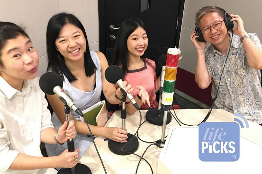 From left: Life Picks podcast host Melissa Sim and journalists Yip Wai Yee, Olivia Ho and Boon Chan, give you the best lifestyle tips this week.