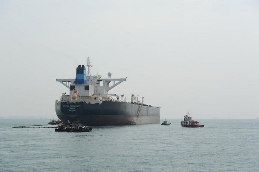 More than 250 personnel from 26 agencies took part in the joint oil spill exercise in Singapore waters near Pulau Semakau.