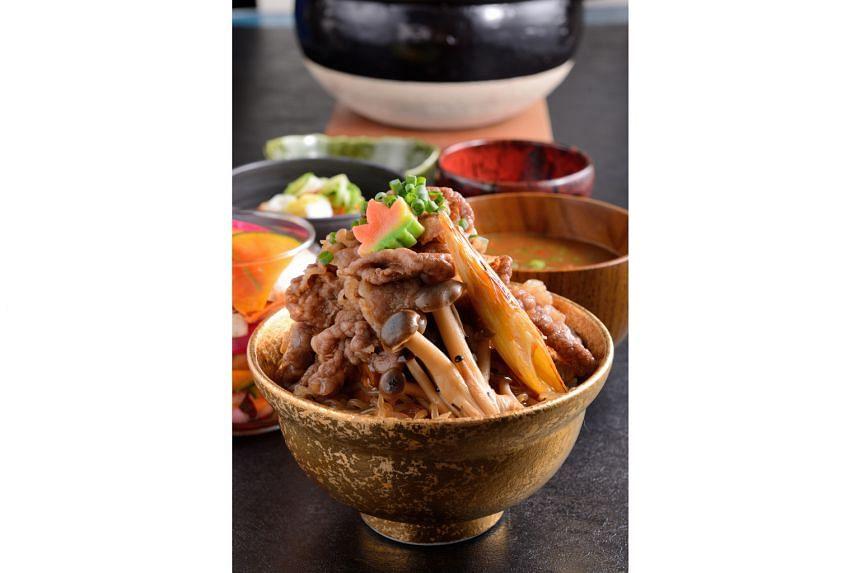 Kiwami Wagyu Sukiyaki Don ($29.90)