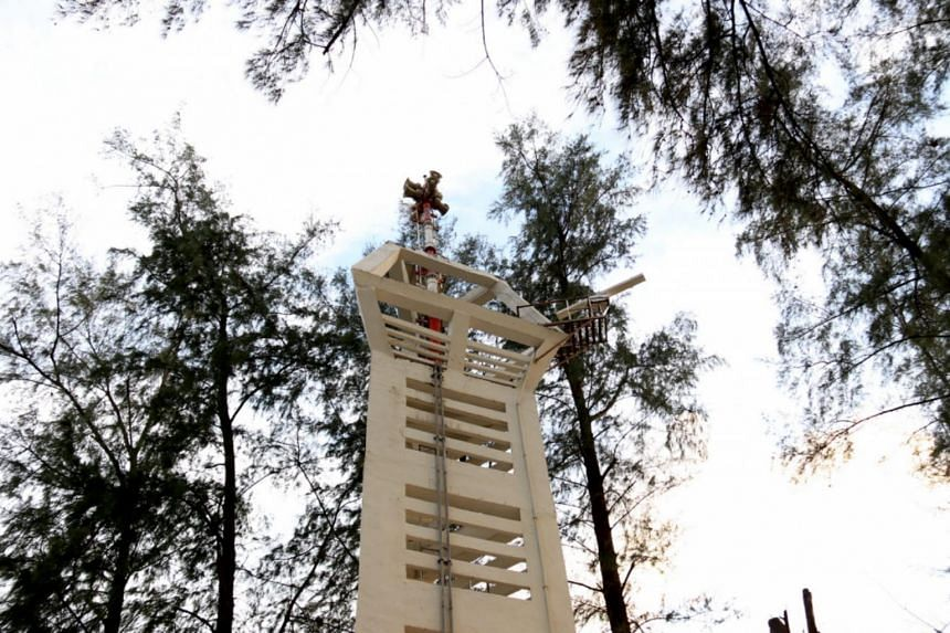 At present, the Phuket towers' early-warning systems are tested every Wednesday.