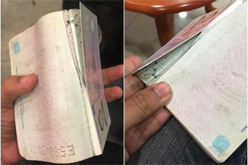 Singaporean Muhammad Fauzi claims that a Malaysian immigration officer tore his passport. Johor's immigration department said that investigations have been opened against the officer.