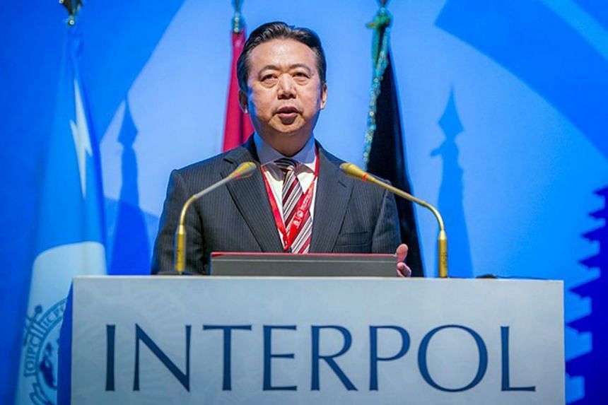 Interpol president Meng Hongwei was last seen leaving for China from Interpol headquarters in France in late September. He was reportedly detained for questioning on arrival in his homeland.