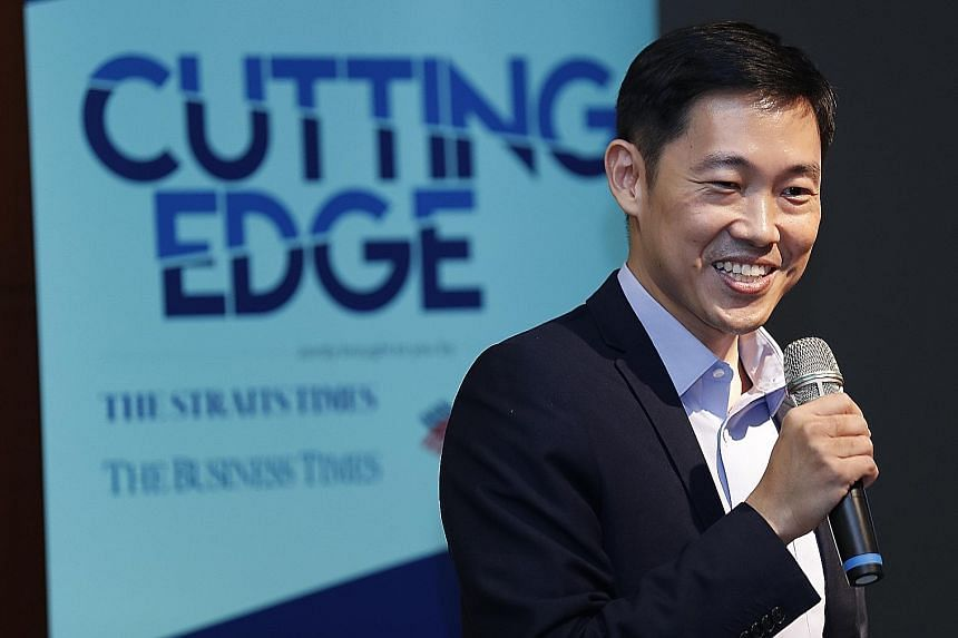 Mr Cheng Hsing Yao, group managing director of GuocoLand Singapore, says the Cutting Edge series aims to inspire thought on how best to embrace change and thrive in uncertainty.