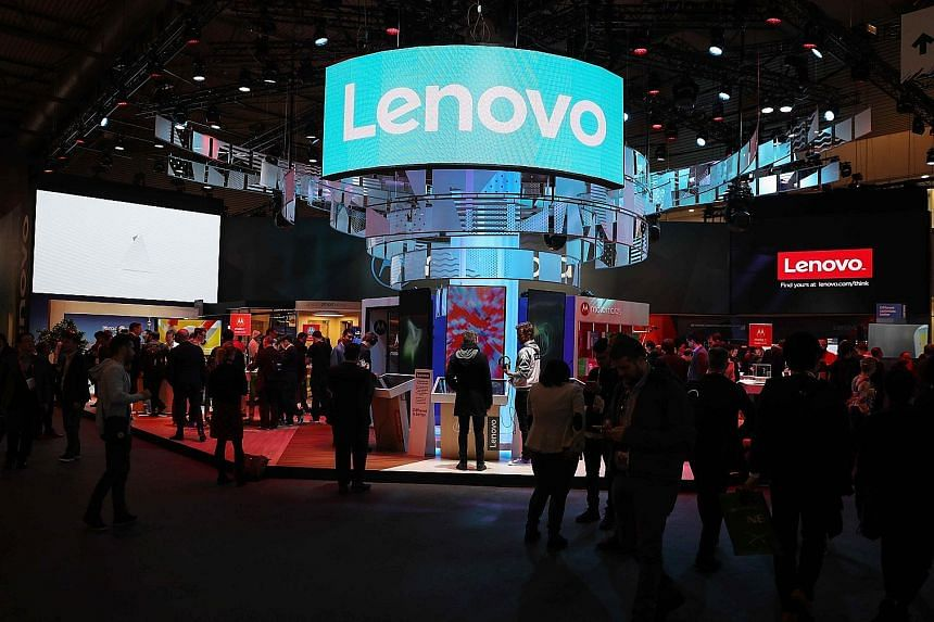 Lenovo shares plunged 15 per cent on fears that consumers and businesses could become reluctant to buy Chinese tech goods. The company has said it takes extensive steps to protect the integrity of its supply chain.