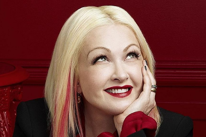 American artist Cyndi Lauper is behind the music and lyrics of Broadway musical Kinky Boots, which opened at Sands Theatre, Marina Bay Sands yesterday.