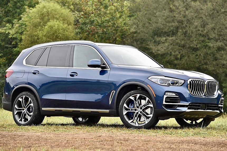 The BMW X5, compared with its predecessor, is more stable, with less body roll around corners and less jiggle when driven over uneven surfaces.