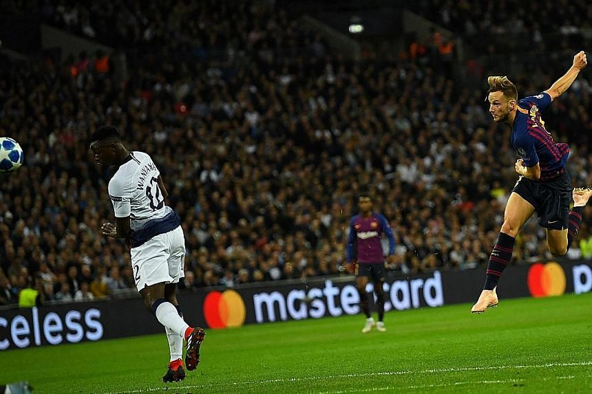 Fans got to see Ivan Rakitic volley home for Barcelona against Tottenham on Wednesday after local telcos sealed broadcast deals just before this week's Champions League games.