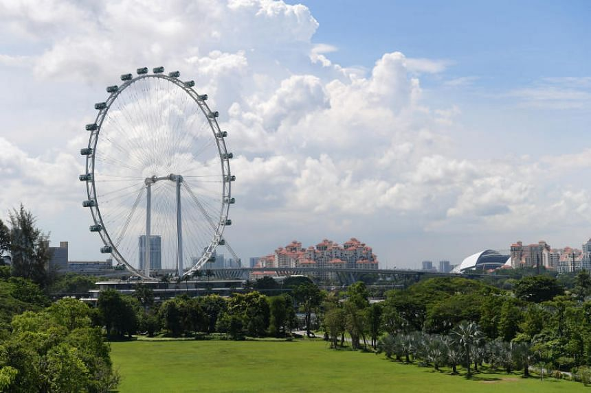 """During the National Day celebrations on Aug 9, 2018, two men aged 32 and 49 were arrested for possessing and operating unmanned aircraft at a """"special event area"""" in the vicinity of Marina Barrage and the Singapore Flyer respectively."""