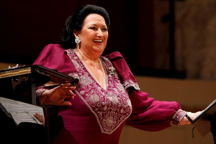 Montserrat Caballe was hailed as one of the world's greatest singers for her vocal virtuosity and dramatic powers.