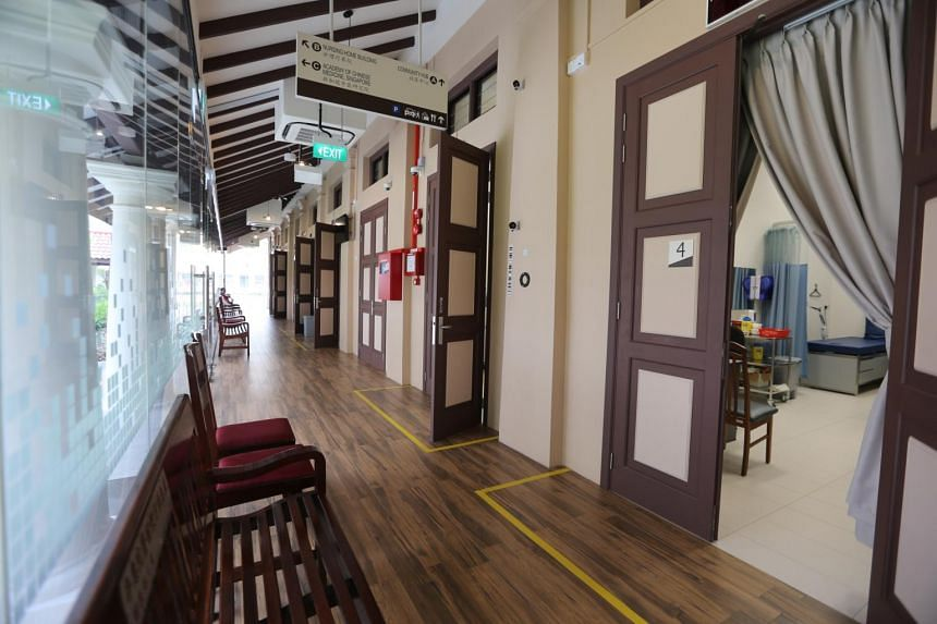 Kwong Wai Shiu Hospital nursing home went through a $96 million renovation project that it undertook with the Ministry of Health.