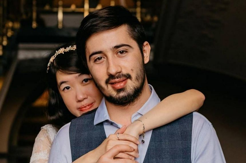 Ms Cheryl Yap Lay Leng and Mr Alexandru Donea had been in a long-distance relationship for more than two years before meeting for the first time in February 2016.
