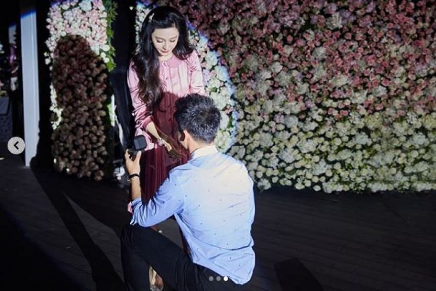 Before Fan's scandal, the couple were one of China's most high-profile celebrity romances.