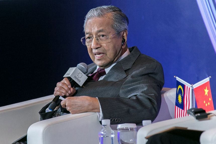 Malaysian Prime Minister Mahathir Mohamad earlier said he does not normally take part in by-election campaigns.