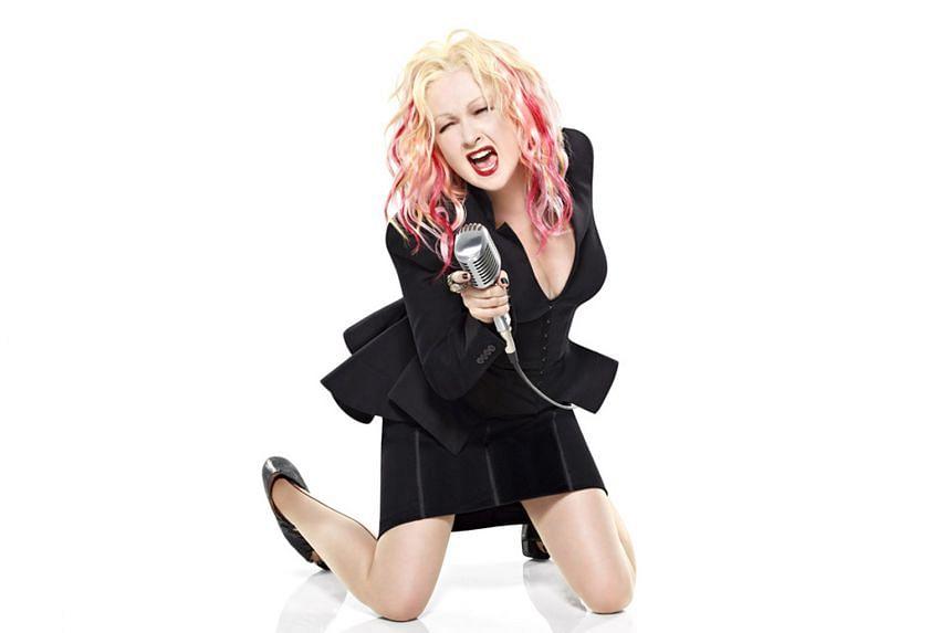 American singer-songwriter Cyndi Lauper.