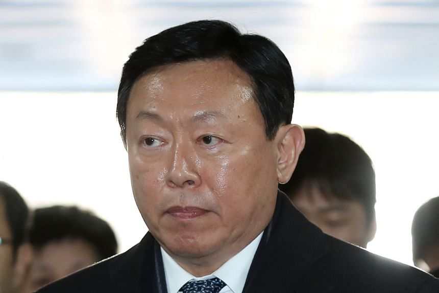 Shin Dong-bin was found guilty of charges including bribery and breach of trust.