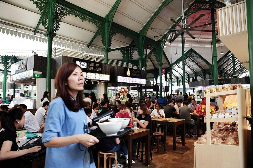 Eating out in Singapore. We recognise a part of ourselves when we find our hawker dishes on a menu in a foreign country, as hawker food is endemic to Singaporean daily life.