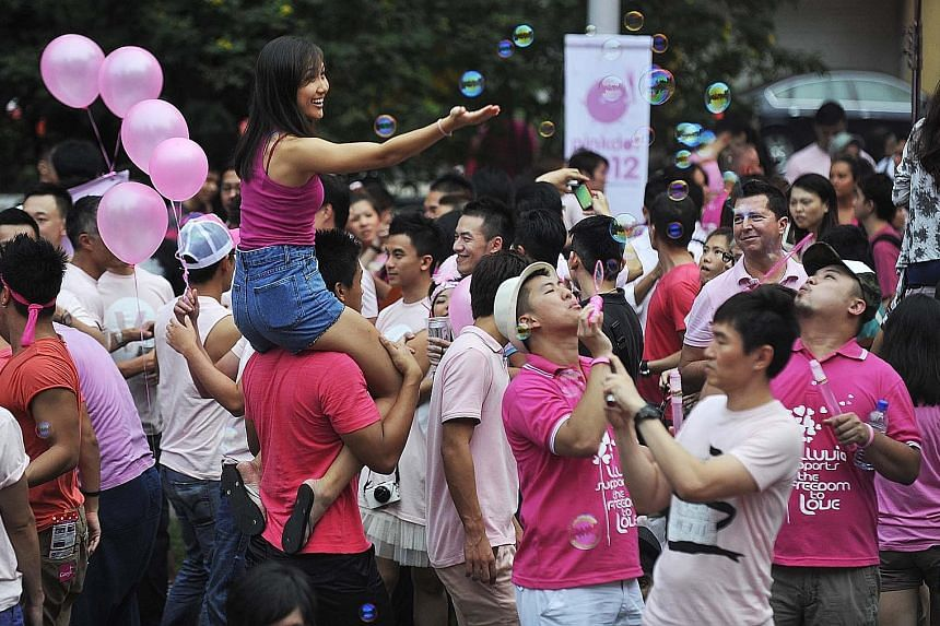 The annual Pink Dot event has been organised to celebrate inclusiveness, diversity and the freedom to love regardless of one's sexual orientation. The writer says there are numerous types of sexual orientations but whether all are equally deserving o
