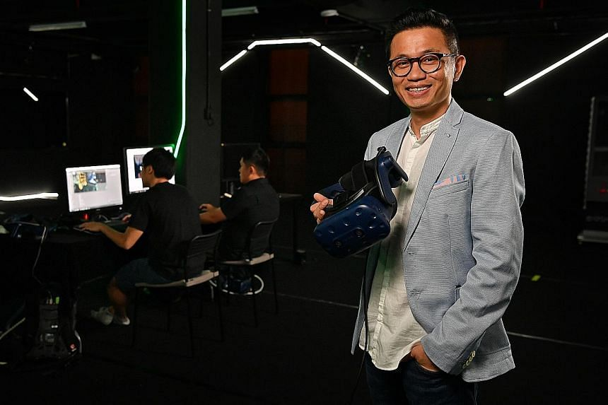 Mr Charles Yeo is the founder and managing director of Vividthree Productions, which now has two main business segments - post-production and content production. Its latest project is the Train to Busan VR thematic tour - based on the South Korean zo