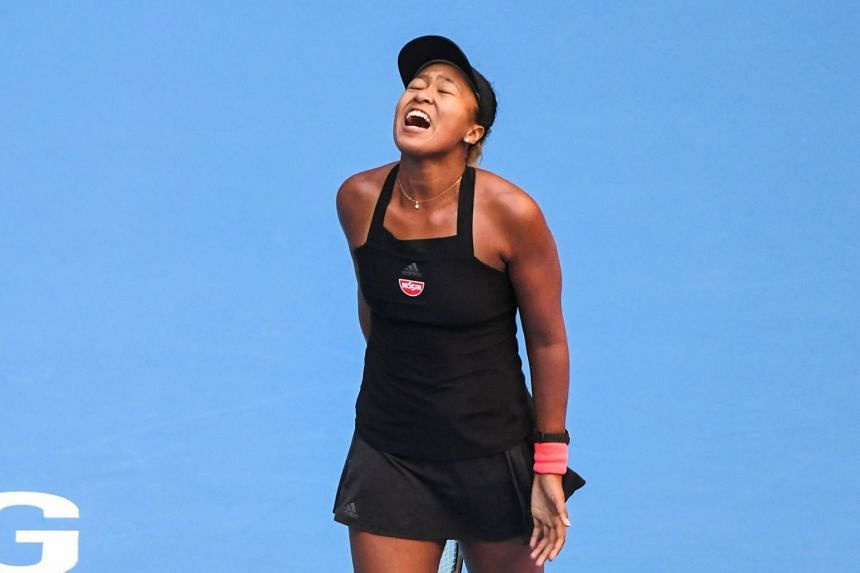 US Open tennis champion Naomi Osaka (pictured) required treatment to her lower back during her semi-final defeat by unseeded Anastasija Sevastova.