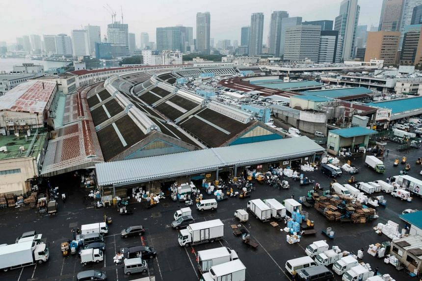 The world-famous Tsukiji market's move has been in the works for decades, prompted by its rundown state.