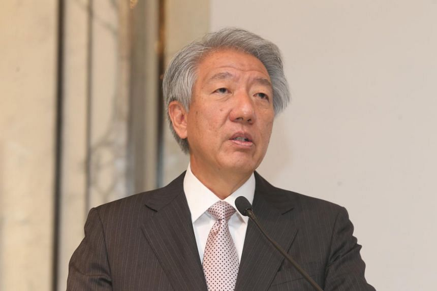 """Deputy Prime Minister Teo Chee Hean called on the SFCCA to """"continue to introduce more innovative programmes and strengthen exchanges with our youth""""."""