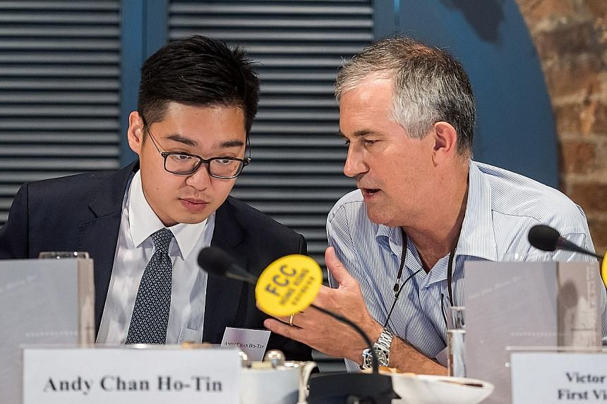 Hong Kong has refused to renew Financial Times journalist Victor Mallet's visa after he chaired a controversial talk by Mr Andy Chan, leader of a political party in favour of independence, at the city's Foreign Correspondents' Club in August.