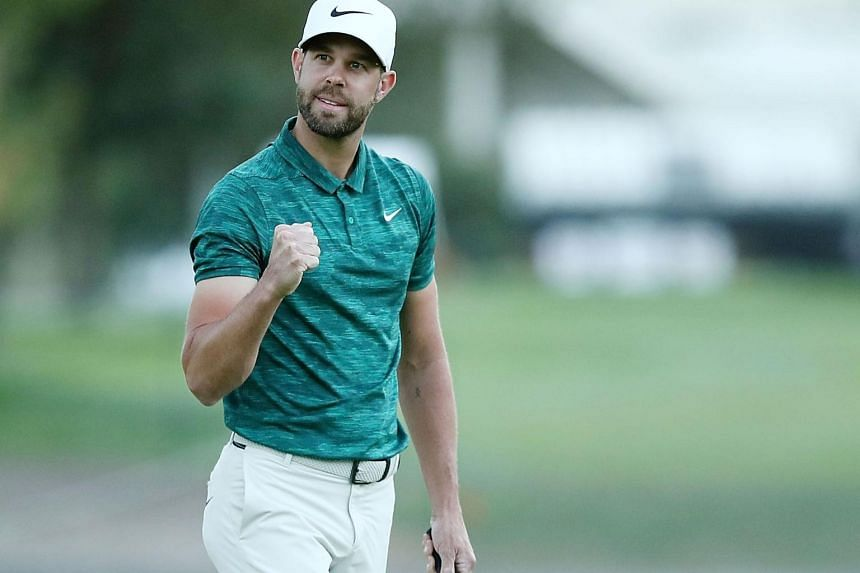 Kevin Tway rolled in a 10-foot birdie putt at the third hole of sudden death to win the first event of the US tour's 2018-19 season.