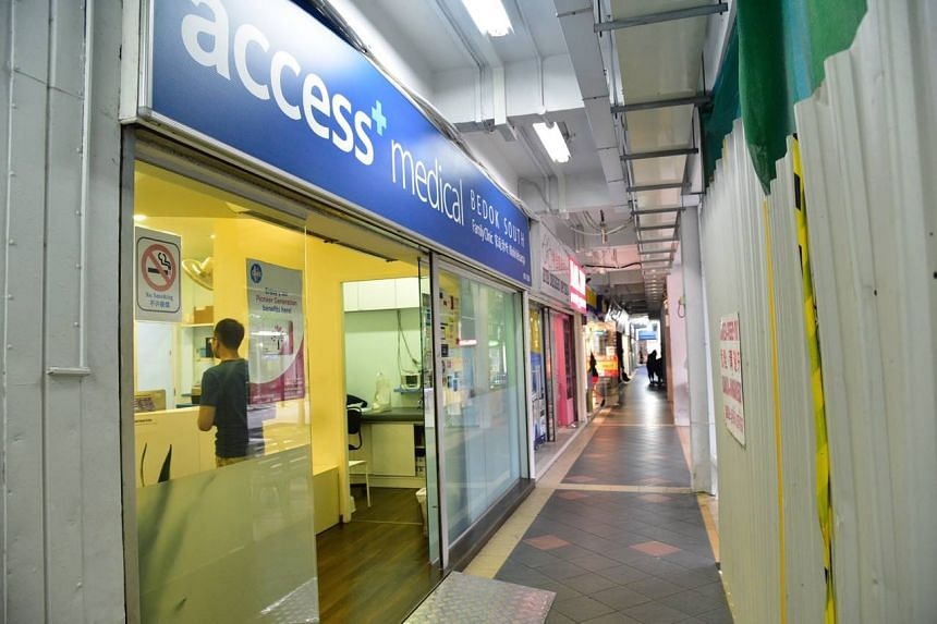 Access Medical Family Clinic Bedok South at 59 New Upper Changi Road, one of the 10 clinics suspended from the Chas Scheme by the Ministry of Health.