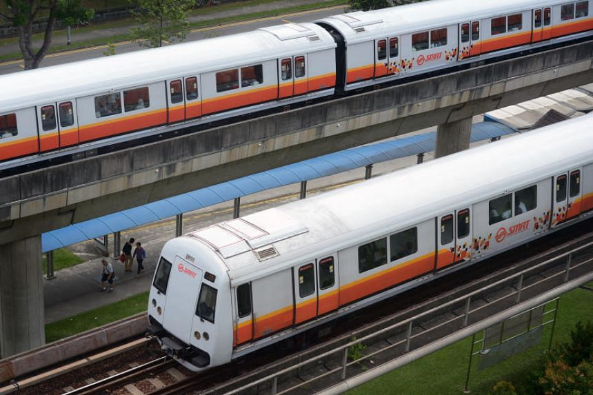 Some commuters said that stations between Sembawang and Ang Mo Kio were affected, while others claimed that they had been experiencing slower train service at stations as far as Woodlands.