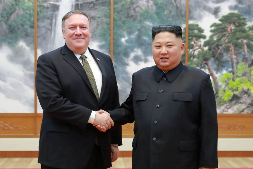 US Secretary of State Mike Pompeo said he and North Korean leader Kim Jong Un discussed denuclearisation steps to be taken by the North.