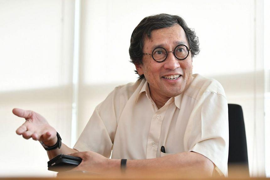 Retired Singapore diplomat Bilahari Kausikan.