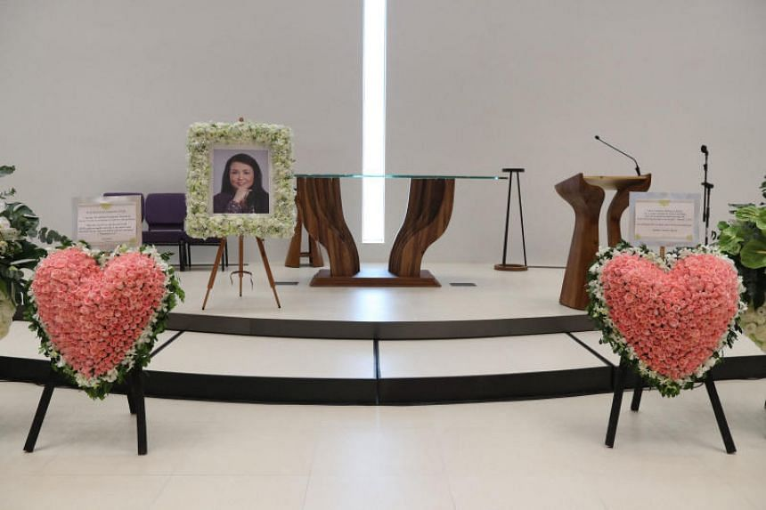 The memorial service was held at the Methodist International Church of Hong Kong on Oct 8, 2018.