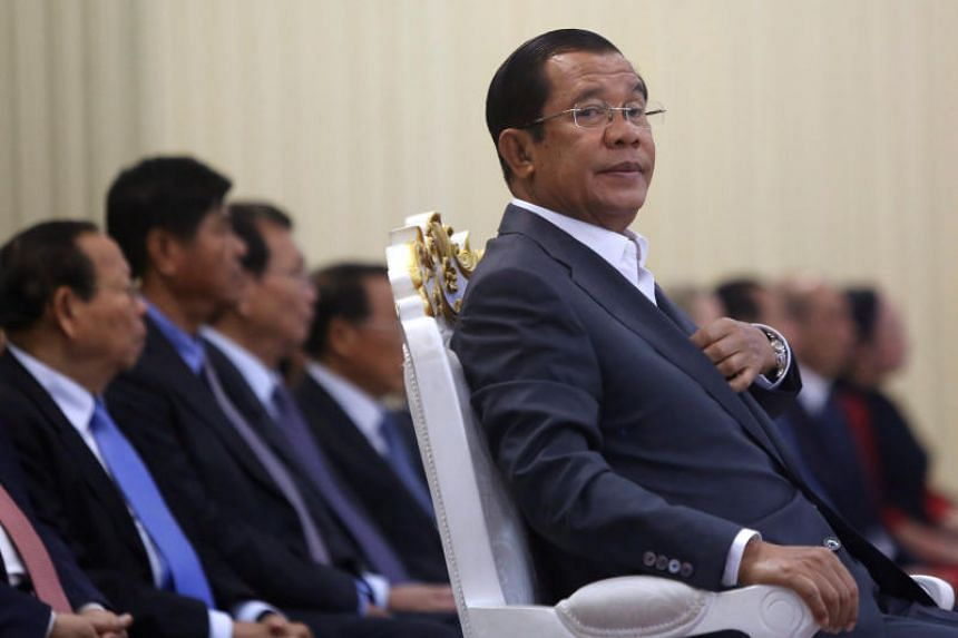 The European Union had warned Cambodia in July that it could lose its special trade status after a general election that month returned Mr Hun Sen to power.