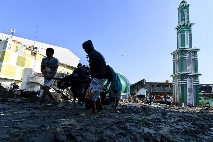 A 7.4-magnitude quake and a powerful tsunami in Central Sulawesi killed more than 1,900 and destroyed over 66,000 homes on Sept 28, 2018. There is no official figure on how many are missing.