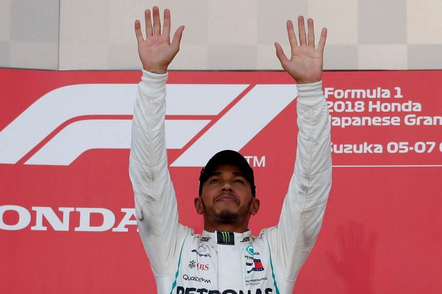 """Lewis Hamilton (pictured) said the media """"need to show a little more respect"""" for Sebastian Vettel."""
